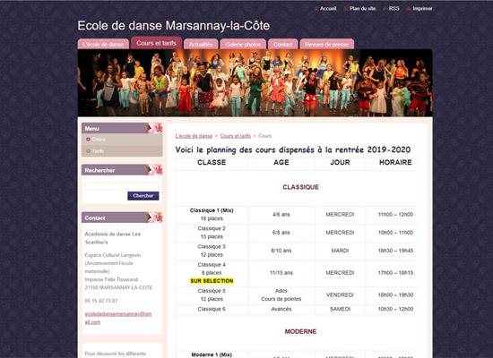 academie-danse-marsannay-planning-before