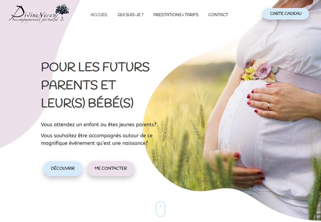 manalia-creation-site-wordpress-divinenesens-accueil