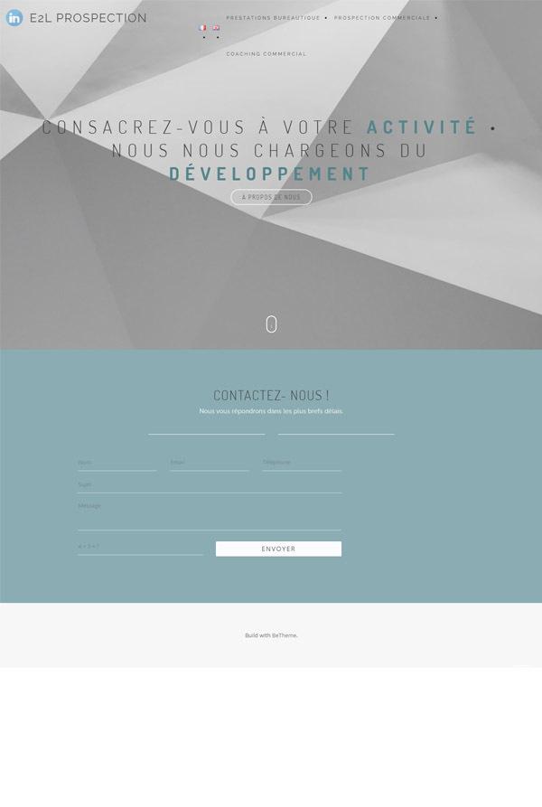 manalia-refonte-site-wordpress-e2l-prospection-accueil-avant